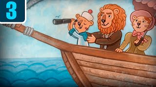 Волшебный фонарь - Маленький капитан - мультики диафильмы детям - Серия 3
