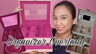 JEWELRY ORGANIZER HAUL + JEWELRY COLLECTION (SAMPLE LANG, NOT ALL)