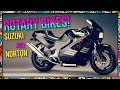 Production Rotary Motorcycles - Suzuki RE5 and the Nortons