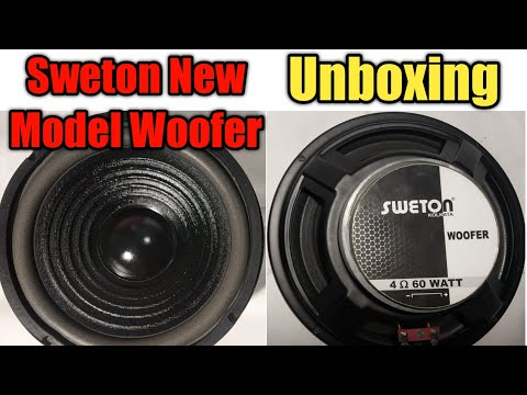 Sweton 60 watt new model  woofer unboxing and review | Best 8 inch woofer for home use |