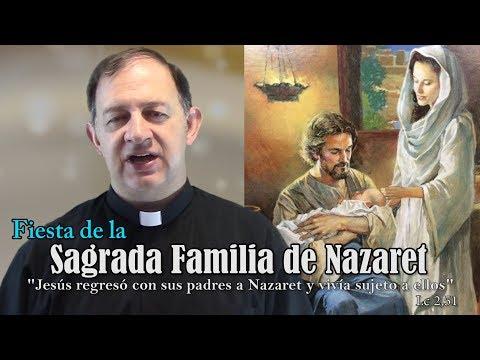 La Sagrada Familia - Ciclo C - Y bajó con ellos a Nazaret