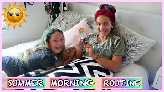 OUR SUMMER MORNING ROUTINE | SISTER FOREVER