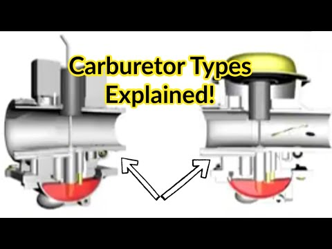 Types Of Motorcycle Carburetors - Differences And How They Work