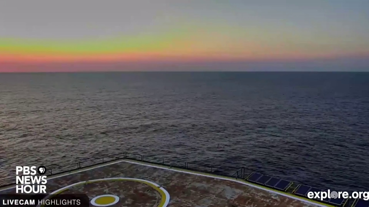Hurricane Florence live video: Webcam from Frying Pan Tower off North Carolina ...