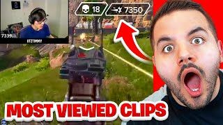 Most Viewed Apex Legends Clips of ALL TIME