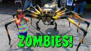 Giant Spider Zombie is GOING DOWN!