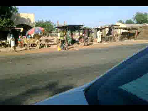 NIGERIA rest area on kebi - sokoto road