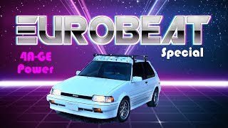 EUROBEAT SPECIAL - 80's Corolla FX16 w/ITB's