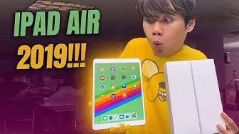 MỞ HỘP iPAD AIR 2019 SIÊU HOT!!! - SHIP HẲN TỪ SINGAPORE VỀ:))