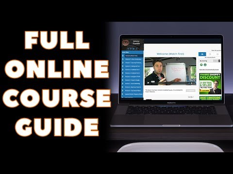 How To Create An Online Course In 50 Minutes (STEP BY STEP)