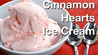 Cinnamon Hearts Ice Cream Recipe- Le Gourmet TV
