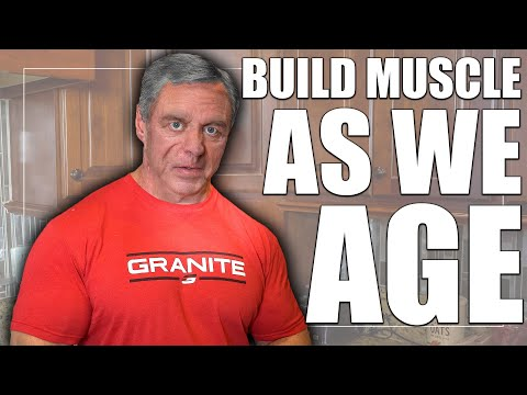 Can We Build Muscle in Our 40's, 50's & 60's + (I Have The Answer)