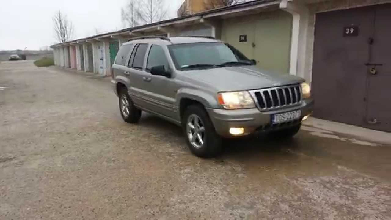 2000 jeep grand cherokee wj 4 7 limited start up engine and in depth tour youtube. Black Bedroom Furniture Sets. Home Design Ideas
