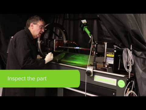 How to Do Fluorescent NDT with Magnetic Particle Inspection