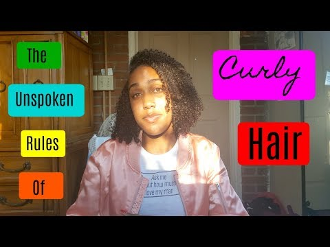 THE UNSPOKEN RULES OF CURLY HAIR | 🌸Berky Campana🌸