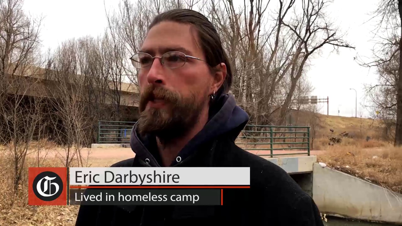 Homeless Camp About To Be Cleared Out In Colorado Springs Youtube
