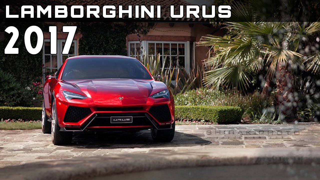 2017 Lamborghini Urus SUV Review Rendered Price Specs Release Date