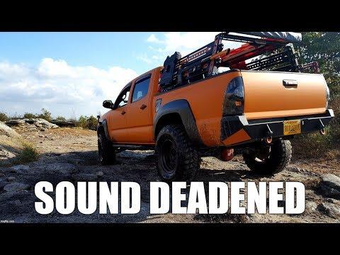 noico-sound-deadening-install-behind-toyota-tacoma-rear-seats