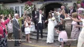 Michael & Helena wedding trailer, top london wedding cinematographer, wedding at Royal Chace Hotel