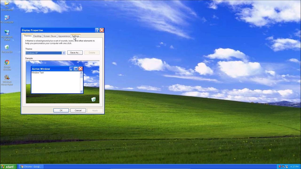 Chrome HiDPI Support for Windows XP? - YouTube