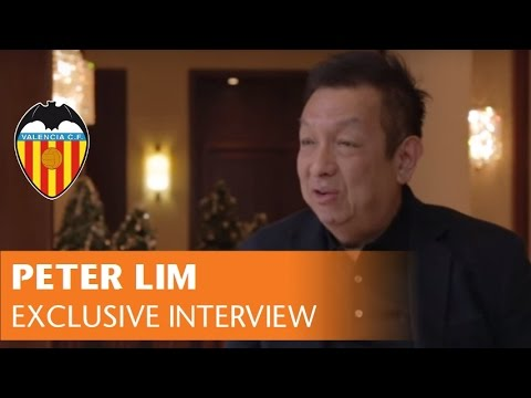 VALENCIA CF | PETER LIM INTERVIEW | ENTREVISTA A PETER LIM