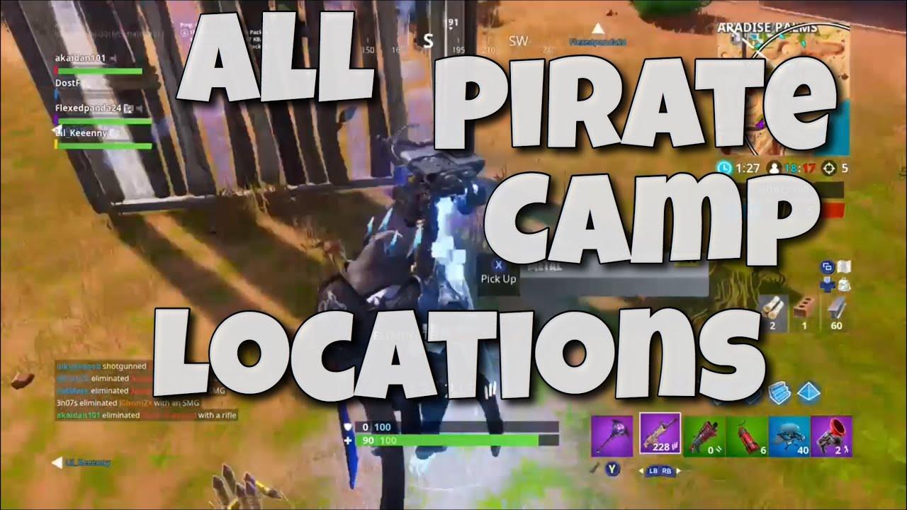 Fortnite Camp De Pirate Saison 8 Fortnite Aimbot Download Xbox One