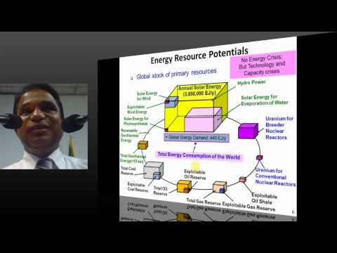 PUBLIC LECTURE : Engineer's Role in Renewable Energy Utilization in Sri Lanka