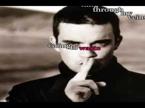 Robbie Williams karaoke- Feel