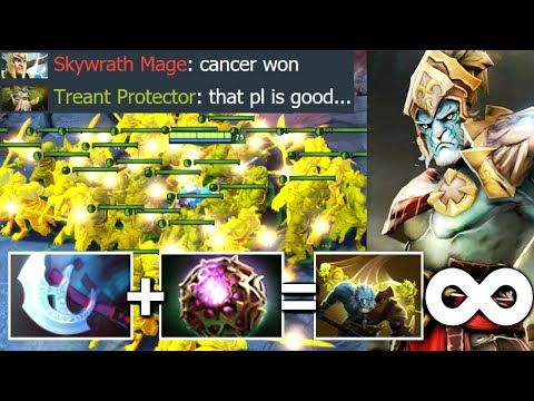 Most Cancerous Hero in Dota 2 - Octarine Lancer 2s Doppelganger by OG.Ana WTF Fountain Farm Dota 2