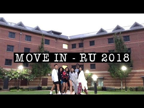 move in and welcome days at rutgers university 2018