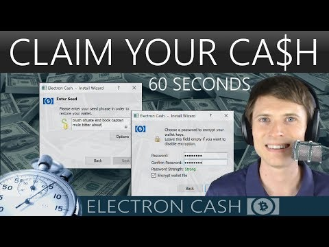 Get Bitcoin Cash Out Of Electrum In 60 Seconds