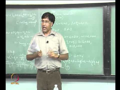 Mod-09 Lec-28 Aerodynamic force and Moment Derivatives