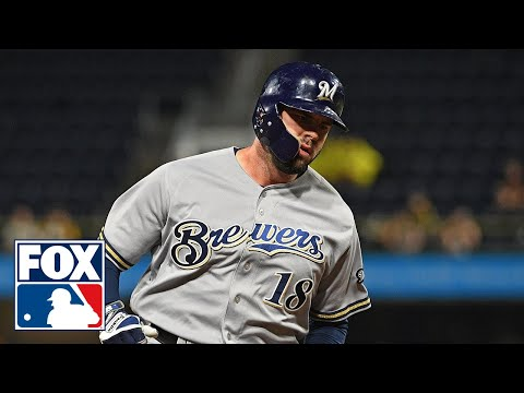 The FOX MLB crew on Mike Moustakas' extra inning heroics to take Game 1 from the Rockies | FOX MLB