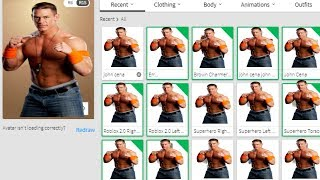MAKING JOHN CENA A ROBLOX ACCOUNT *LOL*