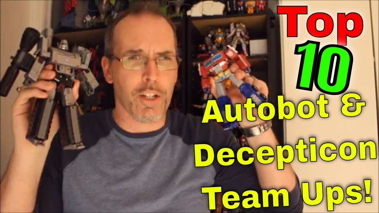 Friends and Enemies: GotBot Counts Down the Top 10 Times Autobots and Decepticons teamed Up!