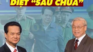 """TIN NỬA ĐÊM: Nguyễn Phú Trọng vừa xuất hiện đã khởi động """"đốt lò"""", Ba Dũng lỡ cười """"lợi bất cập hại"""""""