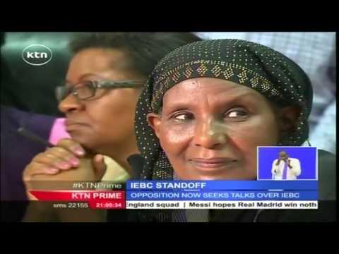 CORD writes President Kenyatta seeking talks on electoral reforms ahead of 2017 general election