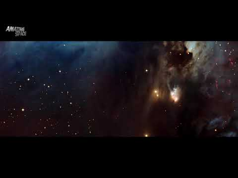 ASTRONOMY VIDEO of Messier 78: HD View of A Reflective Nebula : VLT Telescope