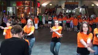 Flashmob Hauptbahnhof Saarbrücken x-it / 07.05.2011