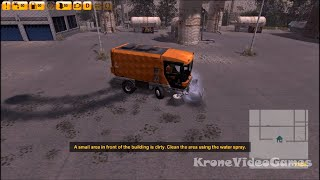 Street Cleaning Simulator Gameplay (PC/HD)