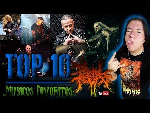 Top 10 - Músicos Favoritos / Metal Release
