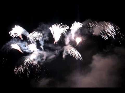 Feuerwerk zur 800-Jahrfeier in Dresden 2006 mit Finale, WECO Feuerwerk