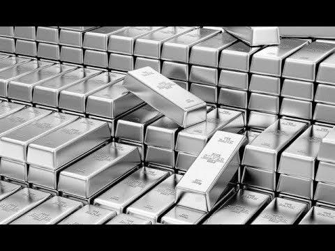 Цена на серебро падает