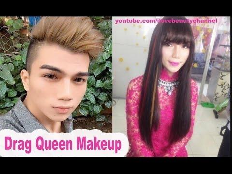 Drag Makeup Transformation Full Body