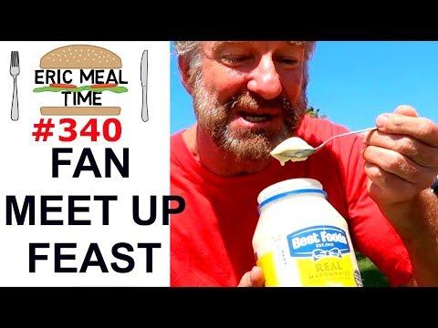 FAN MEET UP FEAST - Huntington Beach, CA - Eric Meal Time #340
