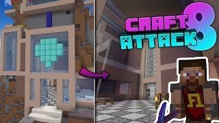 🔴 LIVE CRAFT ATTACK 8 mit CROCO - Chilliger One Diamond Group Baustream!