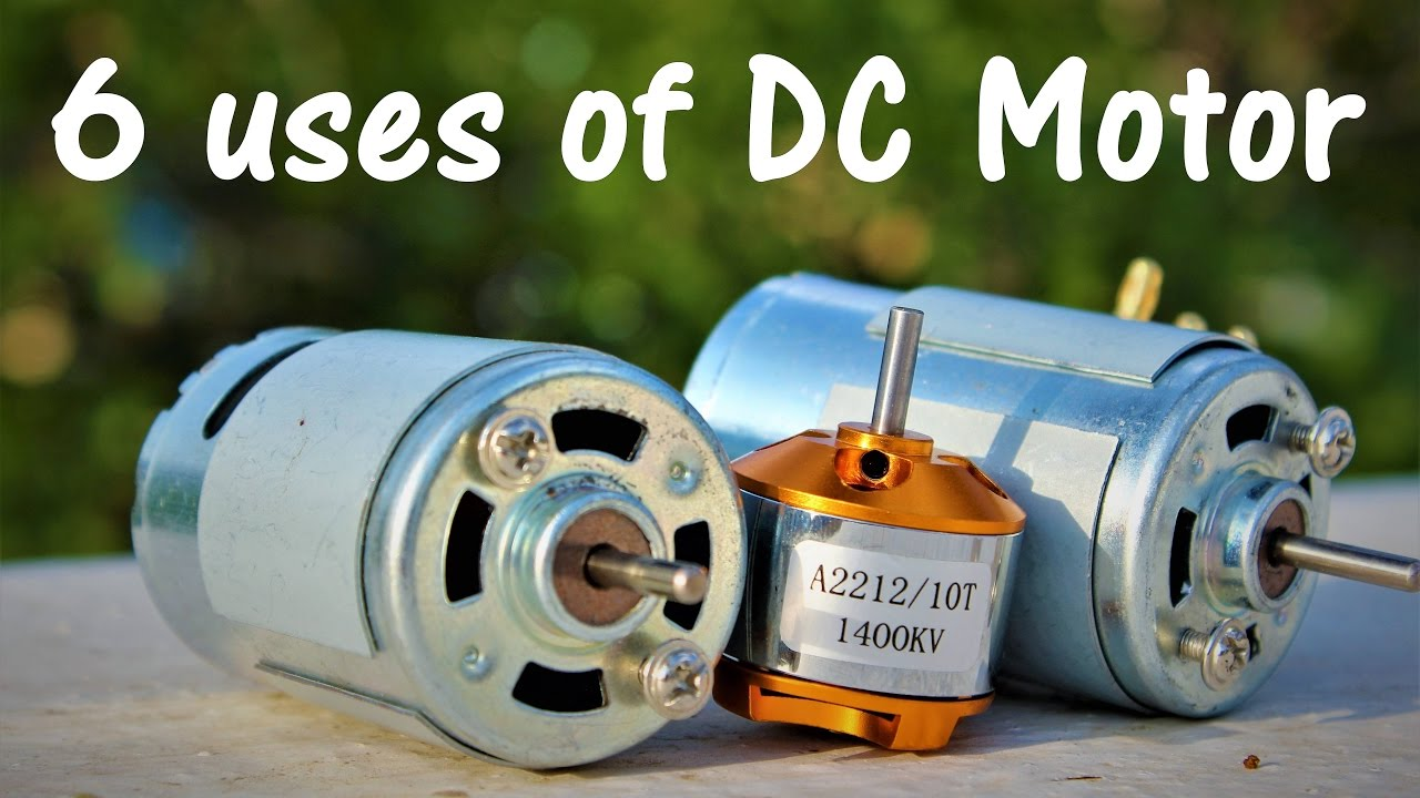6 useful things from DC motor - DIY Electronic Hobby - YouTube