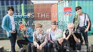 Bts guessing game ll can you guess which bts mv this came from just from a screenshot?