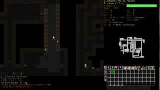 Dungeon Crawl Stone Soup - День 1 (Минотавр-берсерк)