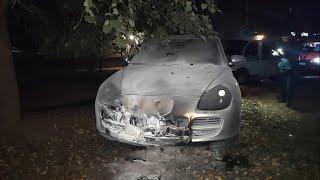 В Смоленске задержан подозреваемый в поджогах автомашин